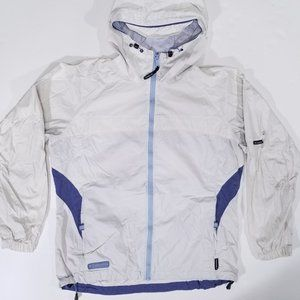 Columbia Packable Hooded Windbreaker Rain Coat